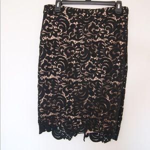 Lucy Paris lace skirt Sz M